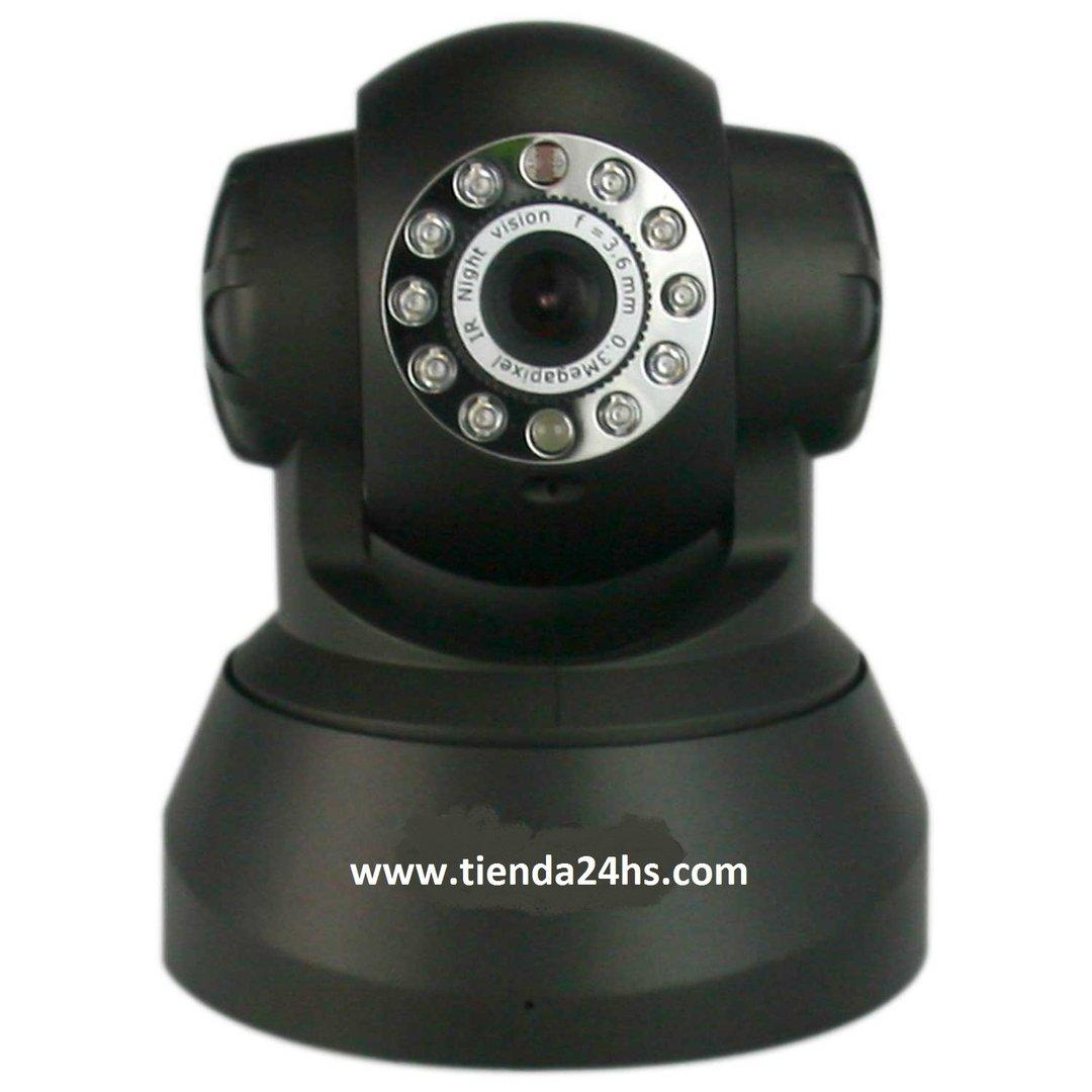 camara ip wifi con detector movimiento servidor incluido