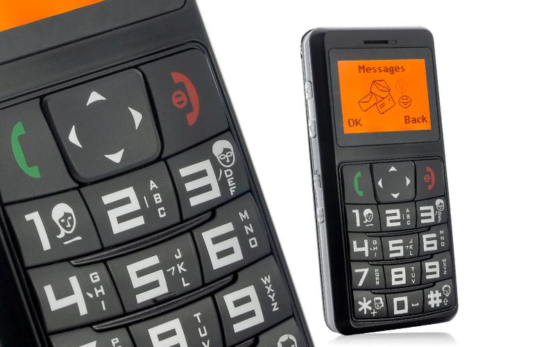 t l phone portable pour personnes g es tracking gps sos appels. Black Bedroom Furniture Sets. Home Design Ideas