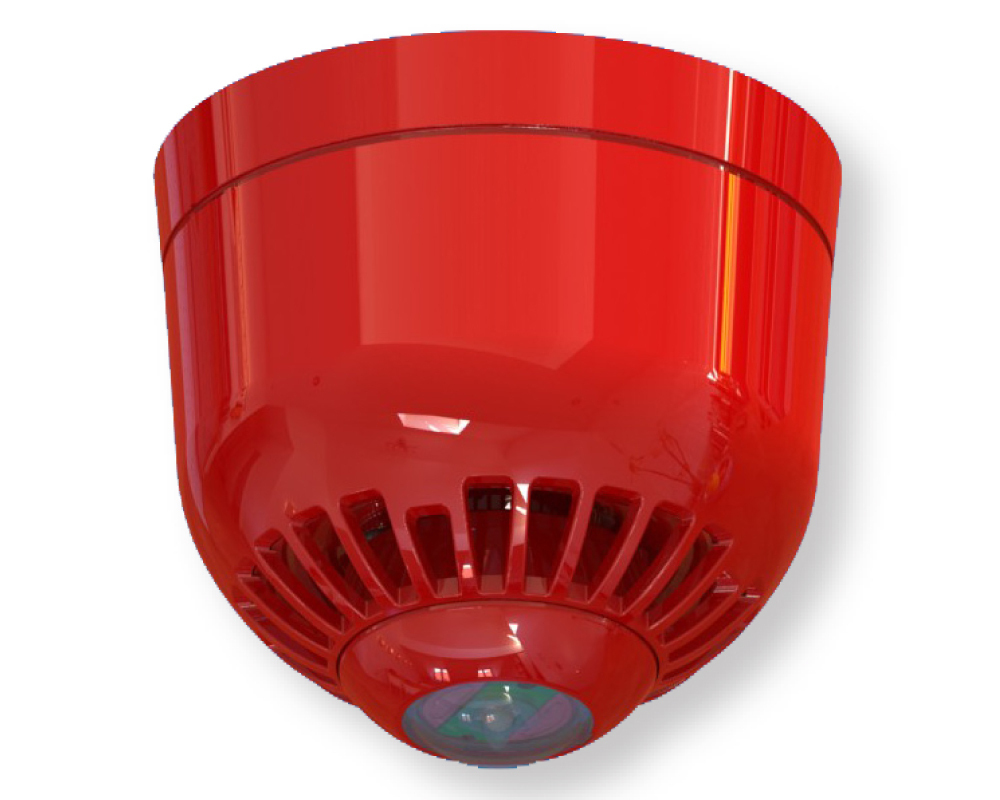 Optical Acoust Siren In Outdoor Ip65 Convent Fire Alarm Pipe