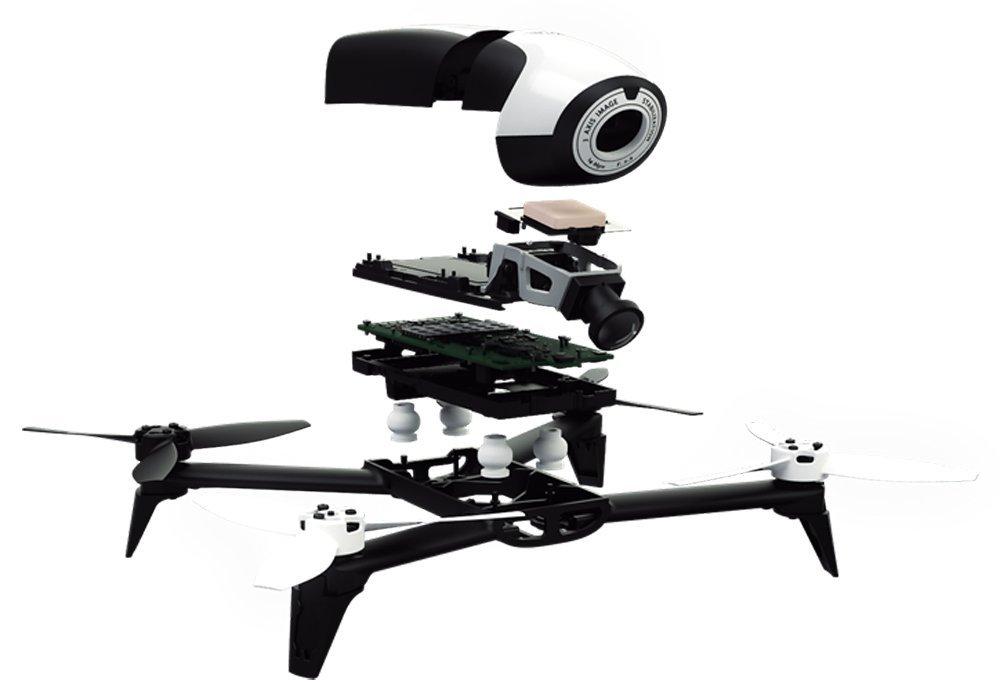 camera for drone parrot bebop 2 14mp. Black Bedroom Furniture Sets. Home Design Ideas