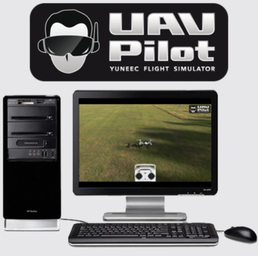 simulateur de drone avec vol r el yuneec yunsim. Black Bedroom Furniture Sets. Home Design Ideas
