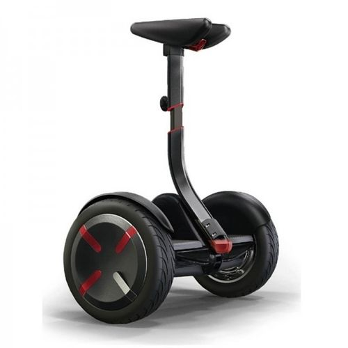 Mini robot de transporte personal BLK LED 18 Km/h Bluetooth