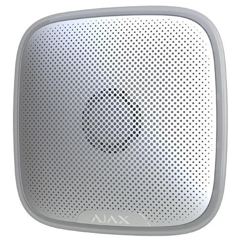 Ajax alarm home security wireless Street sirena