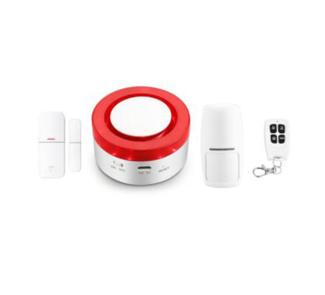 WiFi smart alarm set