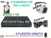 Kit Neuquen FULL HD, domos y compactas,  DVR