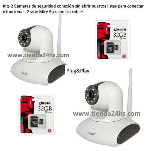 IP Security Cameras Kits 2 wifi
