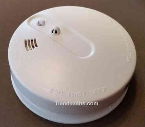 Wireless Smoke Detector and Temperature