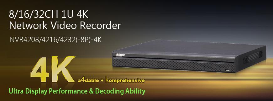 NVR IP Recorder 4K Dahua