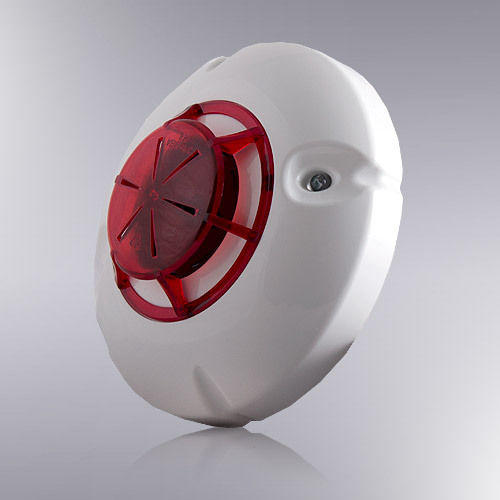 Optical flame fire detector