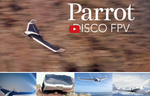 Disco Parrot drone FPV with virtual reality