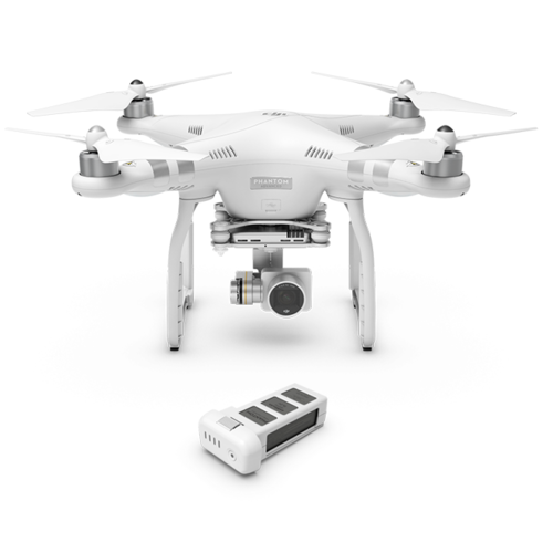 Drone DJI Phantom 3 Advanced + Bateria Extra
