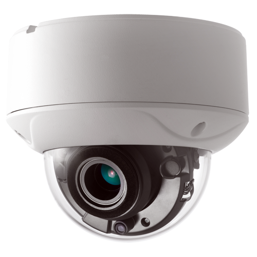 "HDTVI Dome Camera 2mpx HD 1080p, 1/2.7 ""CMOS"