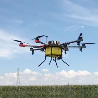 Sprayer Drone with 10 liters capacity
