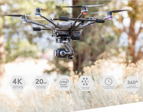 Dron Typhoon H Plus yuneec