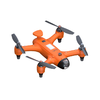 Drone compact and waterproof spray sports drone
