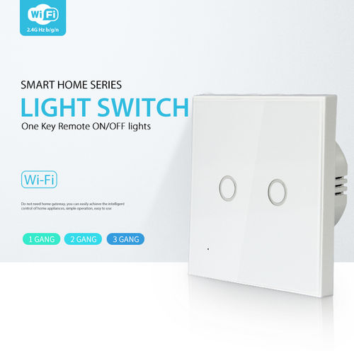 WiFi touch light switch waterproof