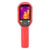 Portable thermal imaging camera with real-time